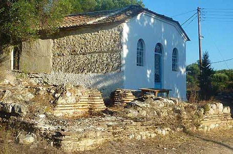 Early Christian Basilica of St. George in Nikiti